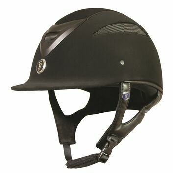 Gatehouse Conquest MKII Riding Hat Suedette Black