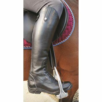 Mark Todd Tall Riverton Boots Black/Grey