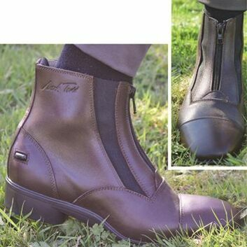 Mark Todd Short Timaru Dual Elastic Boots Brown
