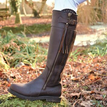 Mark Todd Tall Masterton Boots Cognac Std