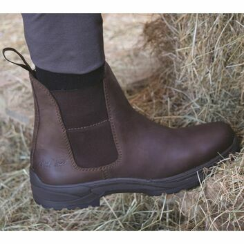 Mark Todd Short Kiwi Waterproof Boots Brown