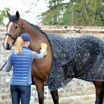 Masta Cooler Rug Fleece & Mesh Pony Black