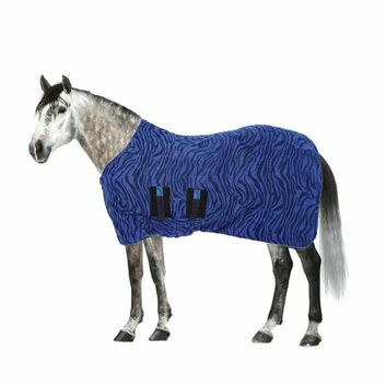 Masta Fleece Rug Base Layer Std Neck Navy