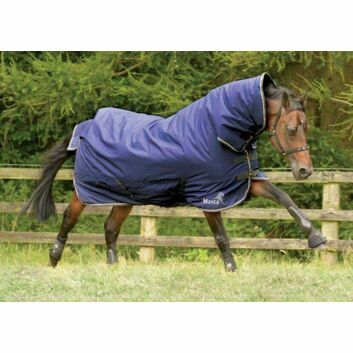 Masta Turnout Rug Avante 170g Fixed Neck Navy