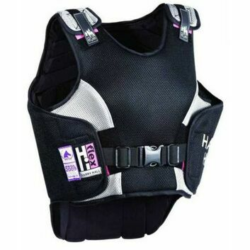 Harry Hall Body Protector Hi Flex Ladies Black