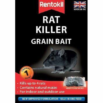 Rentokil Rat Killer Grain Bait