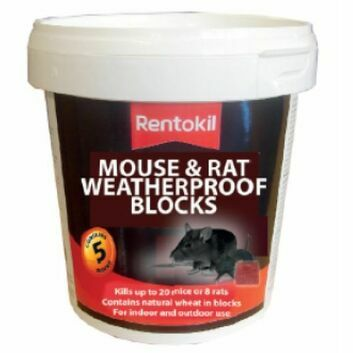 Rentokil Mouse & Rat Weatherproof Blocks