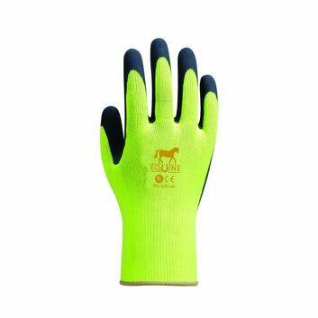 Towa Equine Gloves Yellow