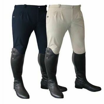Mark Todd Breeches Winter Performance Mens Beige