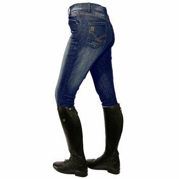 Mark Todd Breeches Dark Denim Ladies Blue Jean