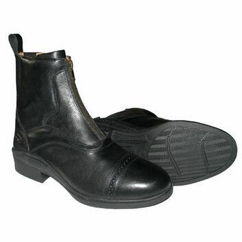 Mark Todd Paddock Boots Campino Zip Black