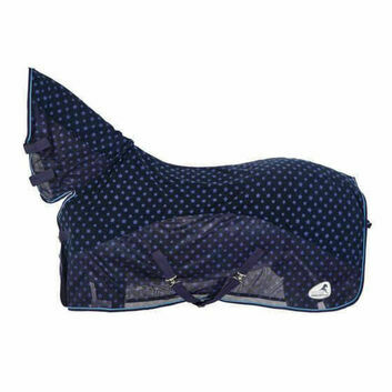 Masta Cooler Rug Fleece & Mesh Pony Navy