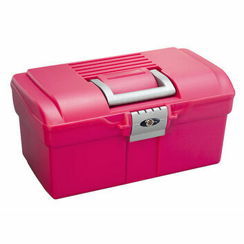 ProTack Grooming Box Small 164 - RASPBERRY/SILVER