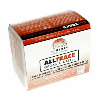 Agrimin AllTrace Organic for Cattle - 20 PACK