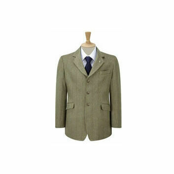 Caldene Competition Jacket Kent Derby Tweed Mens Green