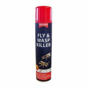 Rentokil Fly & Wasp Killer Spray - 300 ML