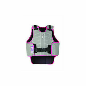 Harry Hall Body Protector Zeus Child Grey/Pink