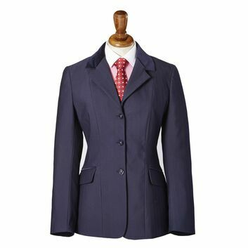 Caldene Competition Jacket Sawdon Pinstripe Ladies Navy