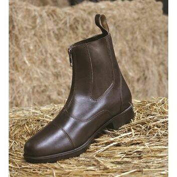 Mark Todd Toddy Zip Jodhpur Boots Adult Brown