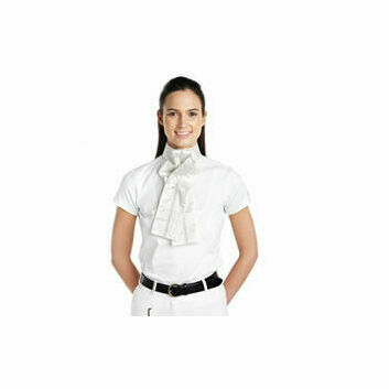 Caldene Competition Stock Ready Tied with Ribbon - White