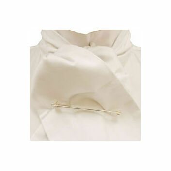 Caldene Competition Stock Self Tie - WHITE