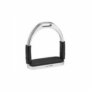 Cottage Craft Stirrups Flexi with Black Treads