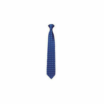 Caldene Competition Tie Royal Blue - SMALL SPOT