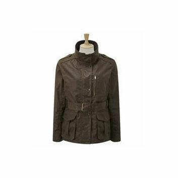 Caldene Country Jacket Figsbury Belted Wax Antique