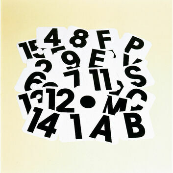 Stubbs Self Adhesive Labels Letter