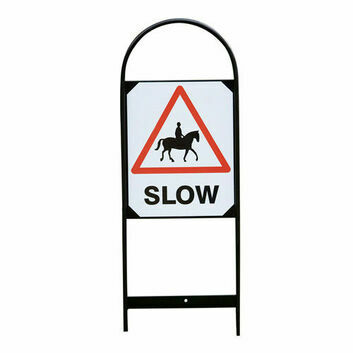 Stubbs Double Sided Markers Horse Slow Sign S63 - 2 PACK