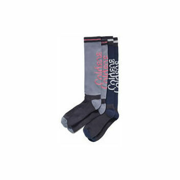 Caldene Leisure Riding Socks Roma x 2 Pack - SIZE 3-8 (36-42)