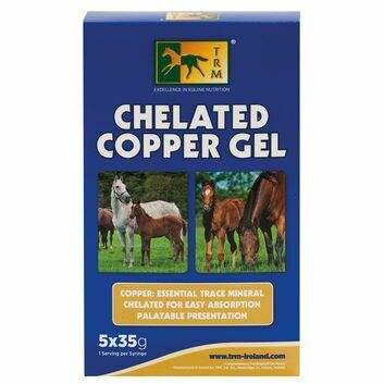 TRM Chelated Copper Gel - 5 X 35 GM SYRINGE