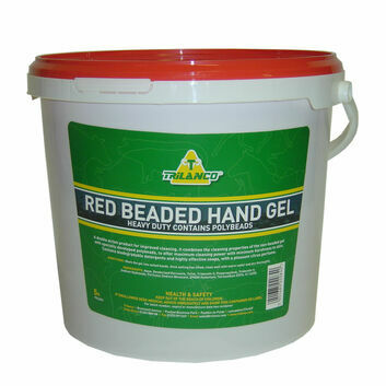 Trilanco Red Beaded Hand Gel - 5 Litre