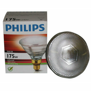 Philips Lamp ES27 Infrared PAR38 ES Clear - 175w