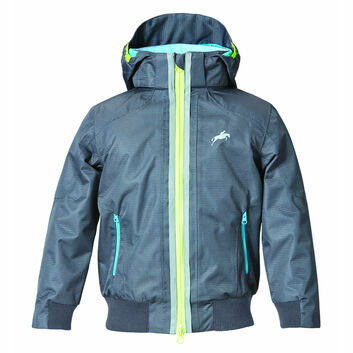 Harry Hall SS18 TEX Jacket Hartland Waterproof Junior Dark Grey