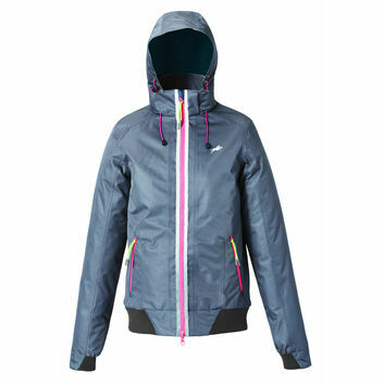 Harry Hall SS18 TEX Jacket Vale Waterproof Womens Dark Grey