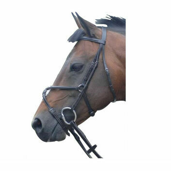 Cottage Craft Bridle Westminster with Reins Havana