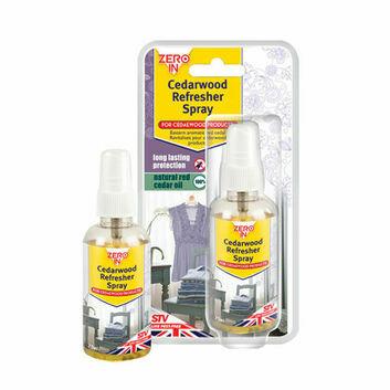 Zero In Cedarwood Refresher Spray - 75 ML