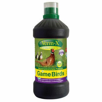 Verm-X Herbal Liquid for Game Birds