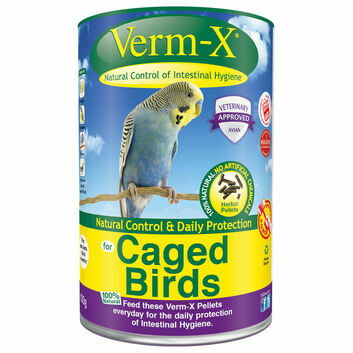 Verm-X Herbal Pellets for Caged Birds - 100 GM TUBE