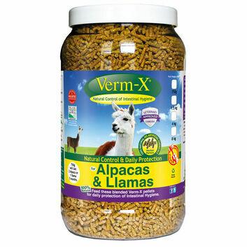 Verm-X Herbal Pellets for Alpacas & Llamas