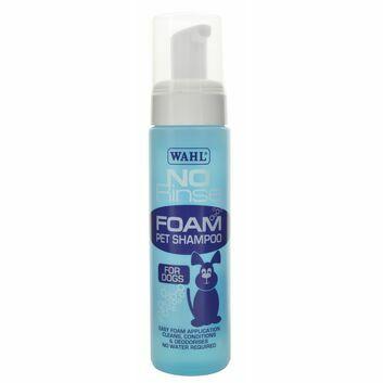 Wahl No-Rinse Foam Pet Shampoo for Dogs x 240 Ml - 250 ML