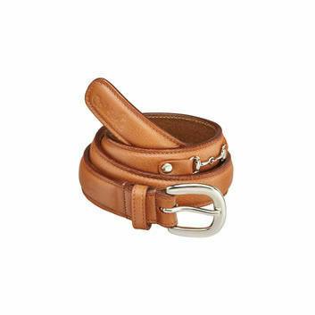 Caldene Belt Saran Leather Tan