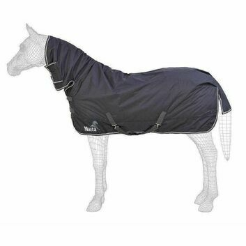 Masta Turnout Rug Avante 340g Fixed Neck Graphite