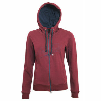 Mark Todd Hoodie Jana Ladies Burgundy - XSMALL