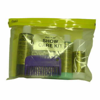 Gold Label Horse Show Care Kit