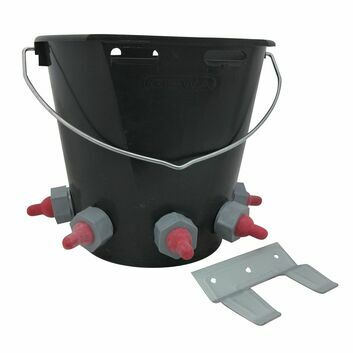 Paragon Rubber Lamb Feeder Bucket 5 Teat Complete