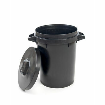 Dustbin Heavy Duty - BLACK