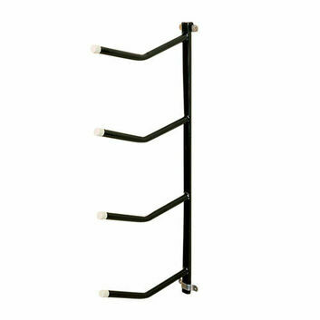 Stubbs Saddle Rack Quadruple Arm Clip-On S334