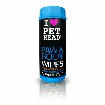 Pet Head Paw & Body Wipes - 50 PACK